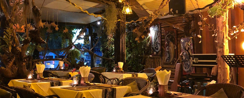 Restaurant terras buiten